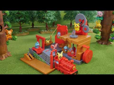 Very Rare Toys! Pokemon Pikapika Starry Sky Camp   Camp Pikachu   ピカピカ星空キャンプ (2002)