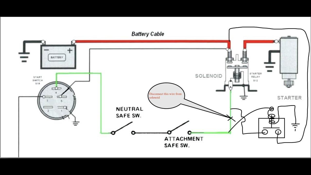 medium resolution of fix unreliable start solenoid 3 terminal on riding mowers