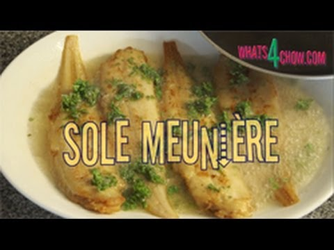Sole Meuniere - Learn To Make This Classic French Seafood Dish, Sole Meuniere, Or Millers Sole