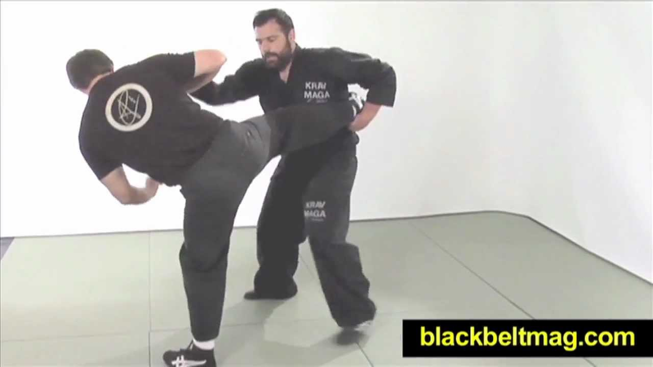 Krav Maga Video by Alain Cohen: What Is Krav Maga Security's Approach to  Countering Kicks?