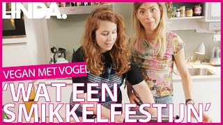 Sanne Maakt Mochi Met Actrice Hannah Hoekstra || Vegan Met Vogel || Linda.
