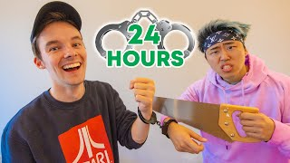 HANDCUFFED to STOVE for 24hrs!!