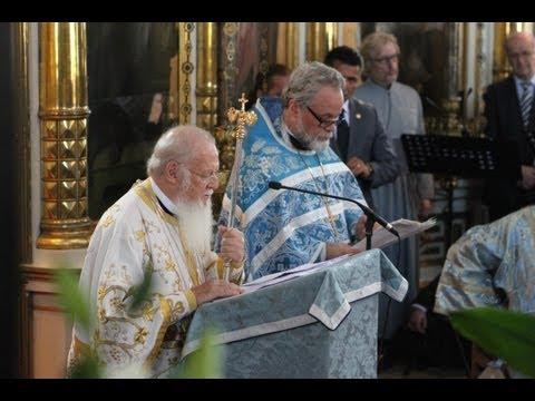 Patriarkaalinen liturgia 12.9.2013 Helsingissä - Patriarchal divine liturgy 12.9.2013 in Helsinki