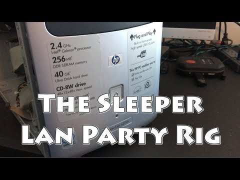 The Sleeper Lan Party Rig