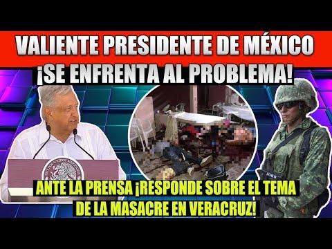 VALIENTE PRESIDENTE AMLO ¡SE ENFRENTA AL PROBLEMA DE MINATITLAN VERACRUZ!