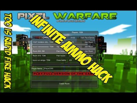 Warfare hack small invisible health ammo work on pixel warfare v2