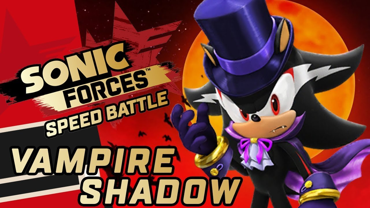 Sonic Forces: Speed Battle - Halloween Event 🎃: Vampire Shadow Gameplay  Showcase