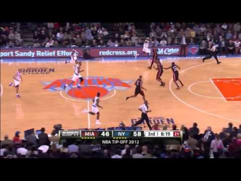 New York Knicks 19 three pointers against Miami Heat
