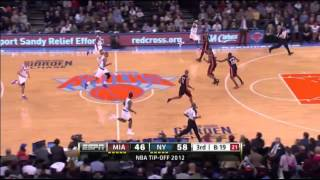 New York Knicks 19 three pointers against Miami Heat