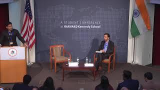 Sachin Pilot at India Conference 2019, Harvard University