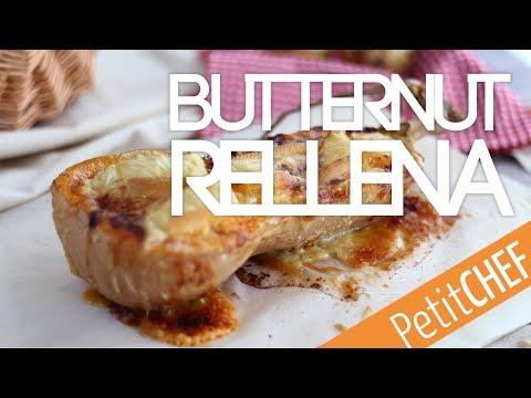 Calabaza butternut rellena de queso | Petitchef