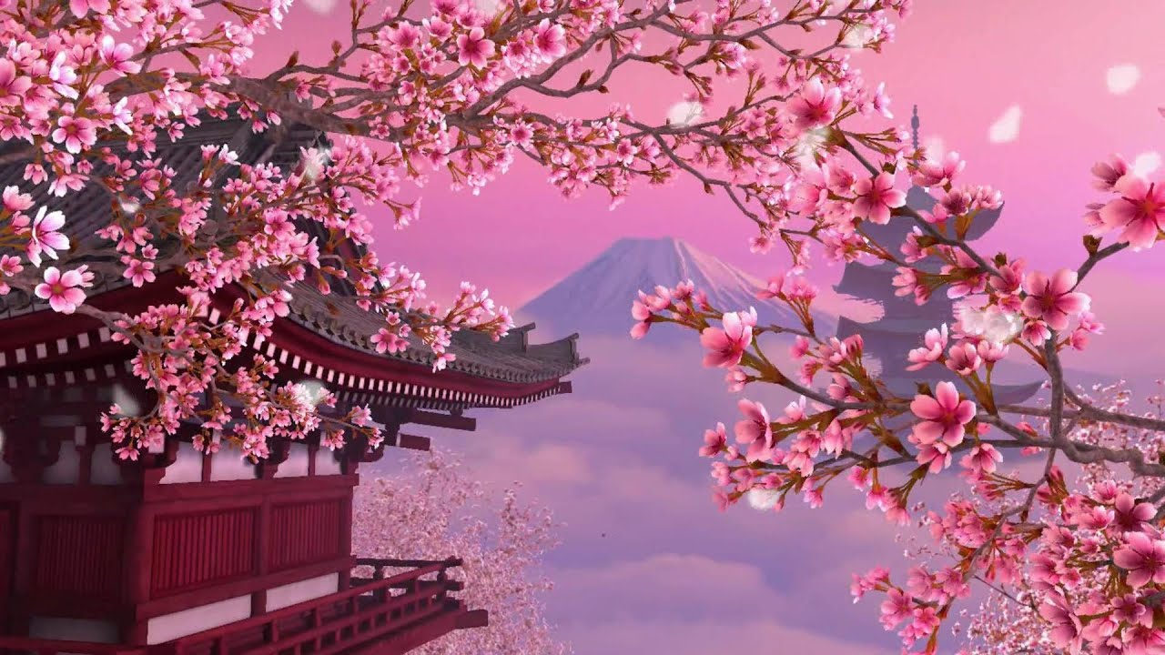 Fall Aesthetic Wallpaper Unforgettable Melodies Cherry Blossom New Age Vocal Hd