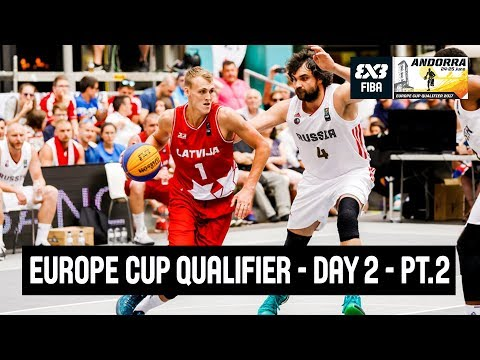 FIBA 3x3 Europe Cup Qualifier - Day 2 - Semi-Finals and Finals - Re-Live - Andorra