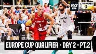 FIBA 3x3 Europe Cup Qualifier - Day 2 - Semi-Finals and Finals - LIVE - Escaldes-Engordany, Andorra thumbnail