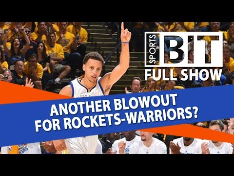 Rockets-Warriors Game 4 & NCAAF Week 1 Lines | Sports BIT | Tuesday, May 22