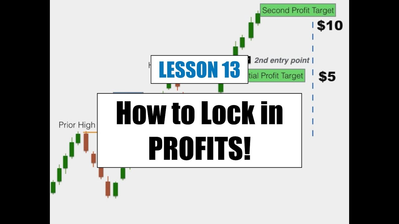 Lesson 13 - How to Exit a Trade and LOCK in PROFITS!