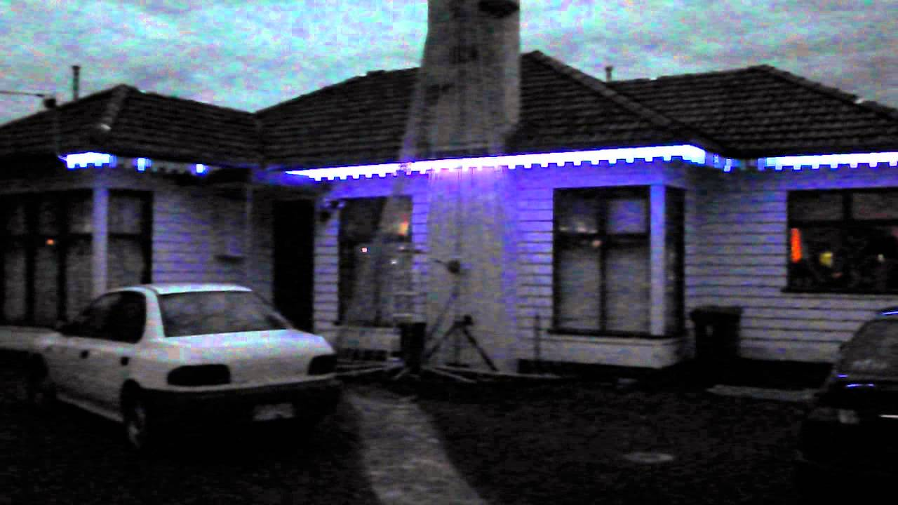 2012 eave lights set up youtube