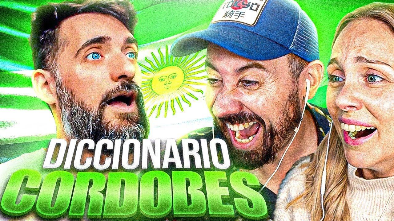 ESPAÑOLES APRENDEN COMO SE HABLA CORDOBES 🇦🇷 Ft Matzorama