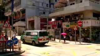 2017 香港自由行 - 炮台山港鐵站步行往Harbour Grand港島海逸君綽酒店沿途實景