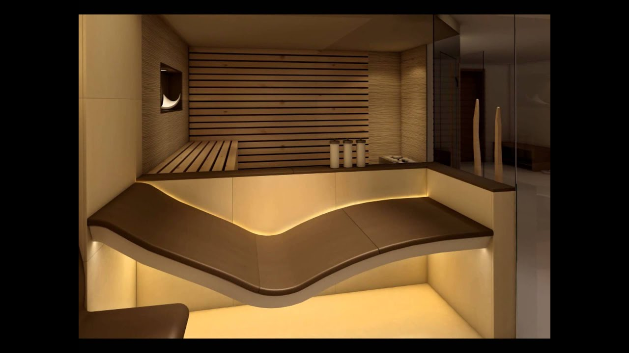 Sauna Designer Steam Rooms Uk London Sommerhuber Therapy Benches   YouTube