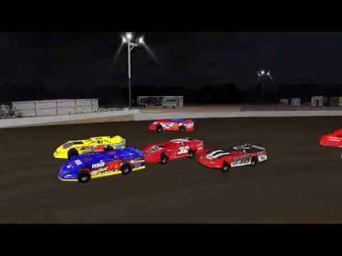 RSR eSports Dirt Super Late Models @ LaSalle Speedway.