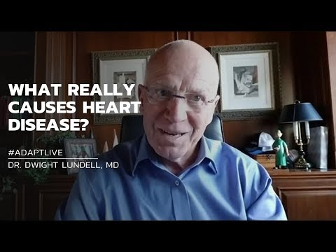 #AdaptLIVE with Dwight Landell - THE TRUTH ABOUT HEART DISEASE & CHOLESTROL