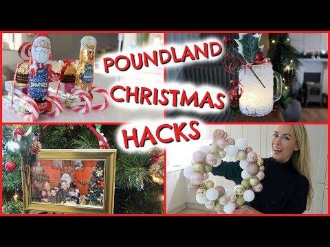 POUNDLAND CHRISTMAS HACKS  & AFFORDABLE GIFT IDEAS