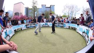 Panna demo by Aless & Hakim at Electrabel Street Heroes Brussels