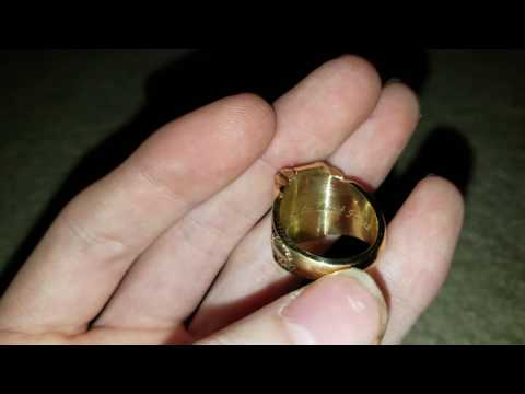My Class Ring made from 10 KT Gold