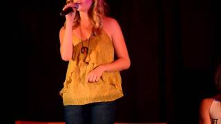 """Candice Accola singing """"Eternal Flame"""" at the Mystic Love Convention !"""
