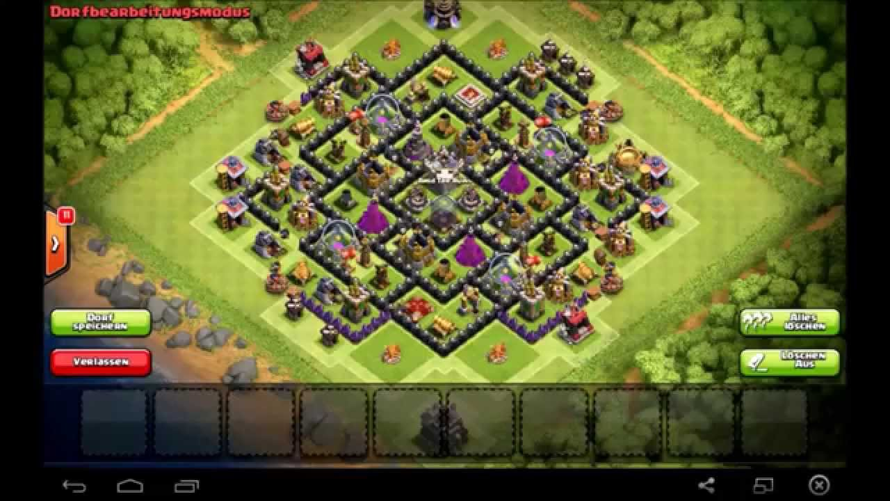 Epic town hall 9 farming base clash of clans best th 9 after halloween