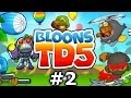 BLOONS TD5 #2 with Vikkstar (Bloons Tower Defense)