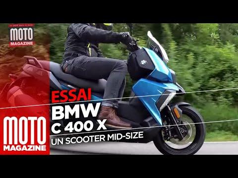 BMW C400 X -  ESSAI SCOOTER 2018