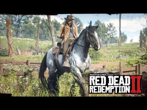 COMMENT AVOIR LE CHEVAL DE GUERRE SUR RED DEAD REDEMPTION 2 - YouTube