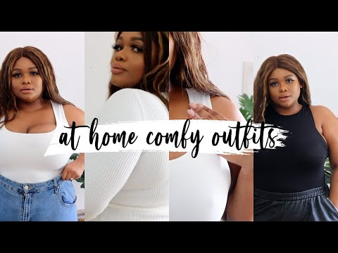 CUTE COMFY AT-HOME OUTFITS | PLUS SIZE FASHION  Cynthia Gwebu