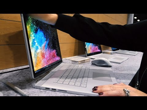 Microsoft Surface Book 2 Hands On | A Creative's Dream