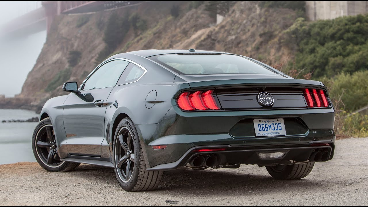 2019 ford mustang bullitt one take