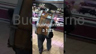 Funny one man band Italy