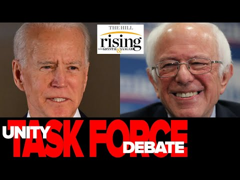 Download Fmr Bernie Campaign Mgr launches BRUTAL ad against corporate dems, defends Biden Unity Task Force