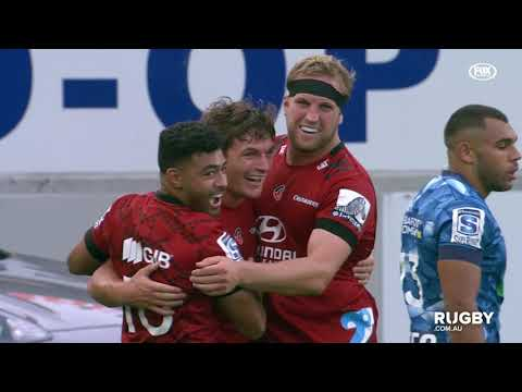 2020 Super Rugby Round Three: Blues vs Crusaders