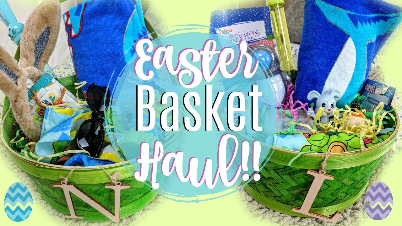 Easter basket ideas 2018 toddler boy easter basket haul youtube easter basket ideas 2018 toddler boy easter basket haul negle Images