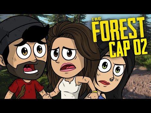 MI HERMANA SE UNE A LA AVENTURA !!  | The Forest Coop #2