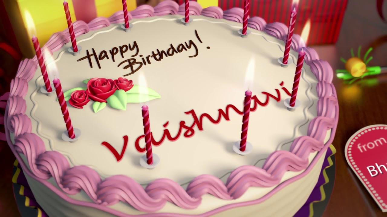 Happy Birthday Vaishnavi Youtube