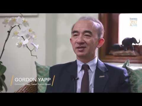 Gordon Yapp , General Manager of Sabah Tourism Board