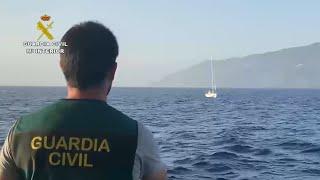 Guardia Civil intercepta un velero croata con una tonelada de cocaína