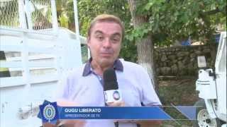 EN 187 - Contingente Brasileiro apoia gravação do programa do Gugu Liberato no Haiti