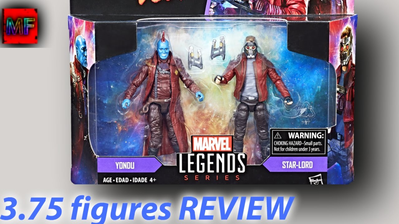 Marvel Legends Guardians Of The Galaxy Vol 2 YONDU and STAR-LORD Action Figures