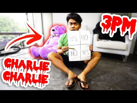 Thumbnail: Do Not Play Charlie Charlie at 3PM! (9999,99% Creepy)