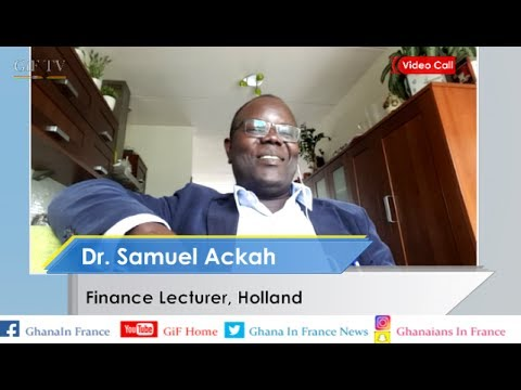 A mechanic becomes Finance Lecturer In Holland Dr. Ackah