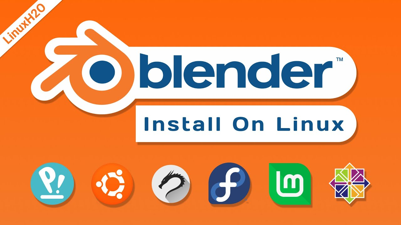 Download How to install Blender in Linux   2021